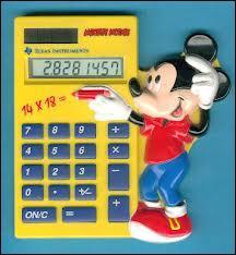 Toi tu es fort de tête pour calculer tout ça !