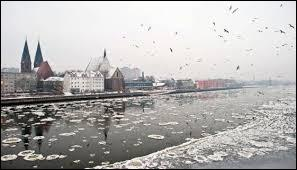 Quel fleuve se jette dans la mer Baltique et sépare en partie l'Allemagne de la Pologne ?