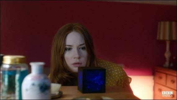 Que fait le cube d'Amy ?