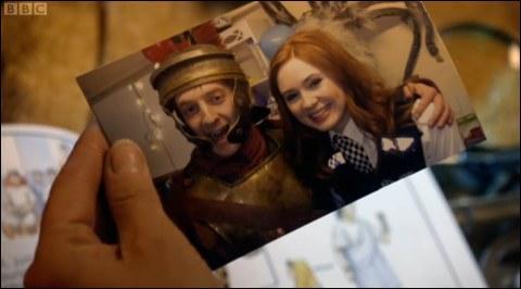 Dans quel épisode Amy et Rory sont-ils tous les deux vêtus ainsi ?
