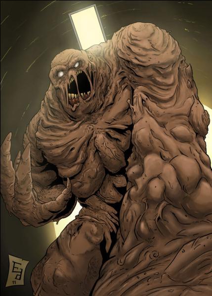 Monstre visqueux, qui peut prendre l'apparence de n'importe qui, voila Gueule d'Argile. Comment s'appelle-t-il ?