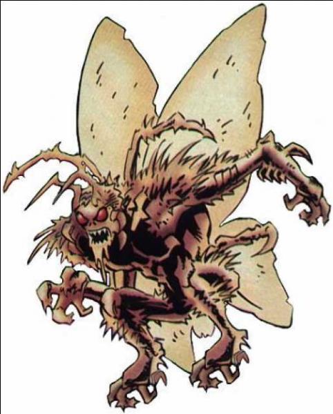 Anciennement Killer Moth, il passe un pacte avec le démon Néron et se transforme en une bête Papillo-Humanoïde du nom de Charaxes. Quel était son nom Humain ?