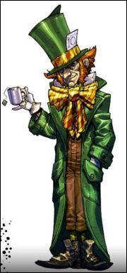 Amateur de thé et de lapins voici le Chapelier Fou, quel est son vrai nom ?