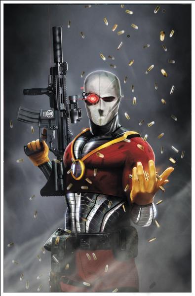 Le pire assassin de l'Univers, DeadShot. Comment s'appelle-t-il ?