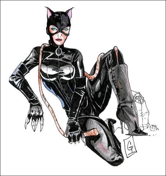 J'ai une attirance pour le cuir et les chats, je possède des griffes et un fouet, j'ai un certain béguin pour Batman et je suis une voleuse hors pair. Je suis Catwoman et mon nom est ... ?