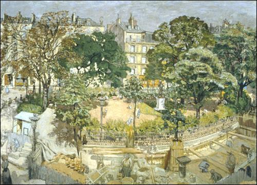 Place Vintimille  (1911). Quel peintre du mouvement nabi a représenté cette place située dans le 9e arrondissement de Paris ?