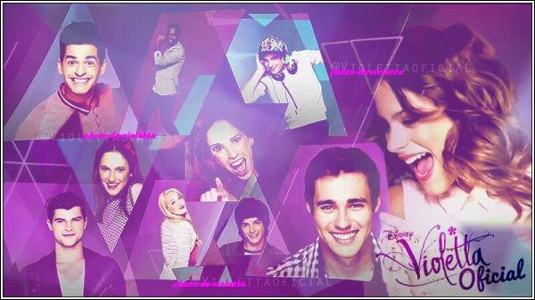 Je joue dans la série  Violetta  sur Disney Channel. Qui suis-je ?
