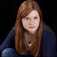 Ginevra Weasley est la dernière des enfants Weasley et...