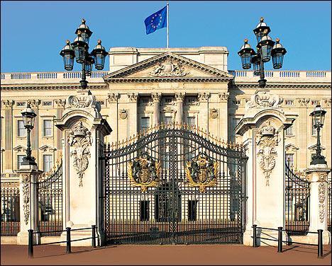 Quelle est la résidence de la Reine d'Angleterre ?