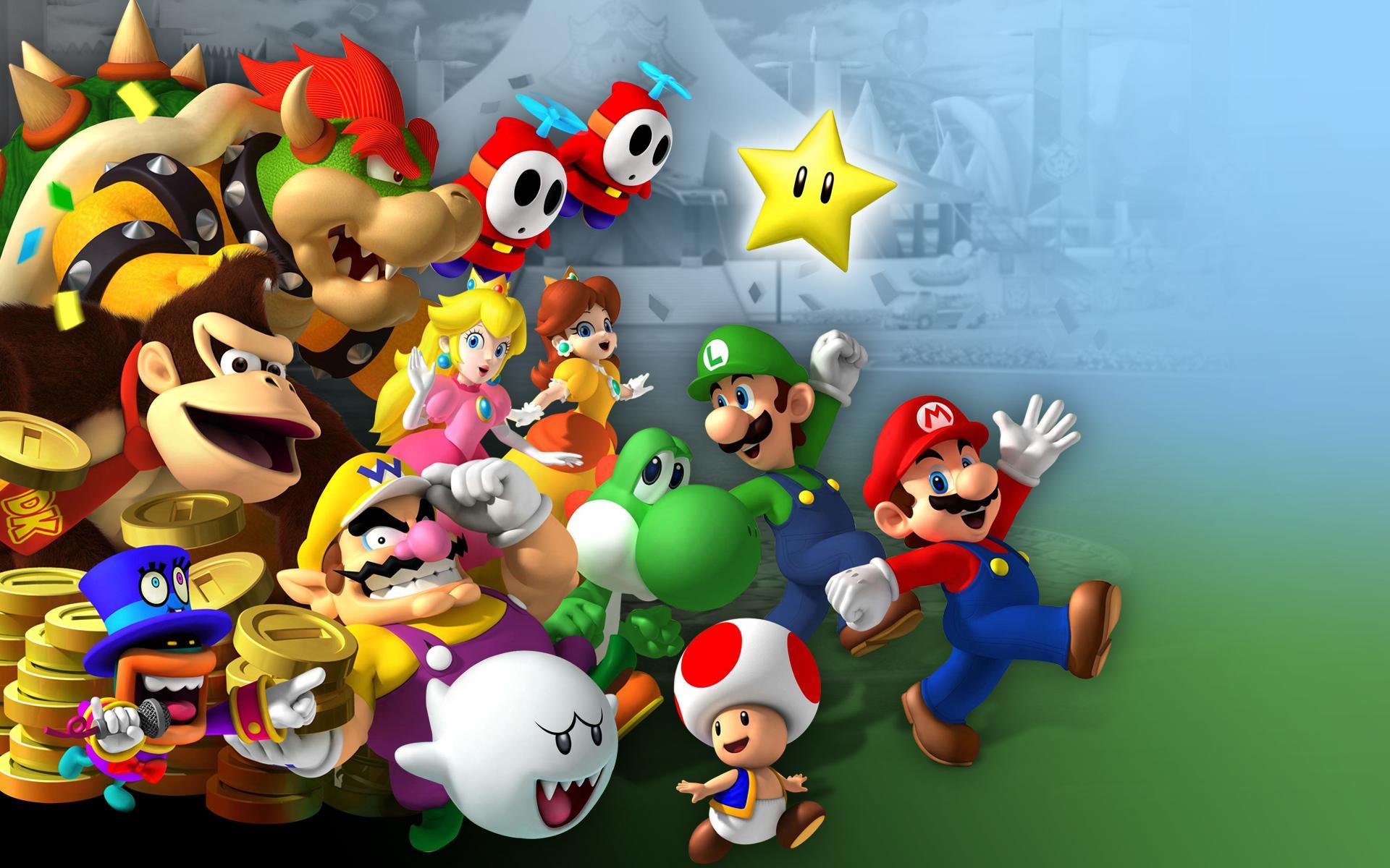 21 Mario : les personnages