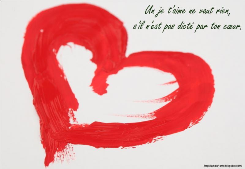 La mesure de l'amour ...