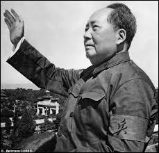 Mao Zedong instaura une dictature communiste dans ce pays. En plus de l'avoir dirigé de 1969 à 1976, il l'avait également fondé. Quel est ce pays en question ?