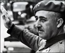 En Espagne, à partir de quelle année débuta le règne totalitaire du général Franco ?