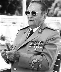 Quel pays fut sous la coupe tyrannique de Tito durant une grande partie de la seconde moitié du XXème siècle ?
