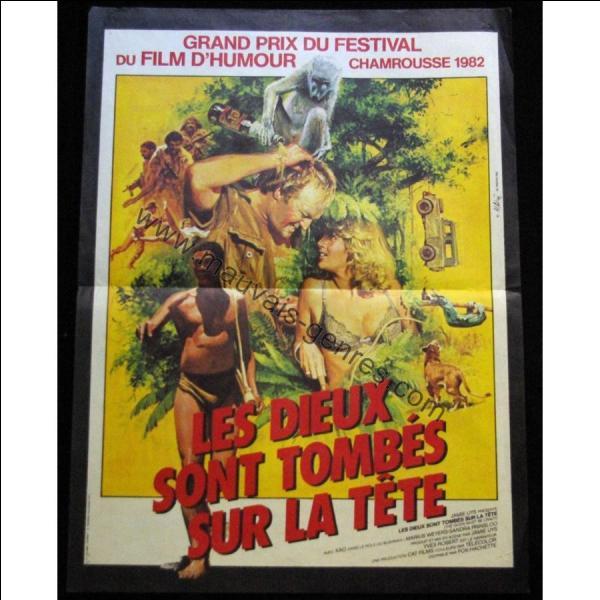 """Dans le film de Jamie Huys """"Les dieux sont tombés sur la tête"""", Une bouteille, jetée d'un avion, atterrit en plein milieu d'un village bushmen. Ce don des dieux sème la discorde dans la tribu qui n'a de cesse de s'en débarrasser. Quelle était cette bouteille ?"""