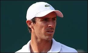 Qui est ce joueur de tennis français ?