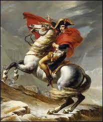 Premier peintre de l'empereur Napoléon Ier, notamment reconnu pour la toile  Bonaparte franchissant le Grand Saint-Bernard , je suis... :