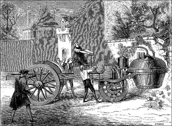 La première automobile fut inventée en 1770 par :