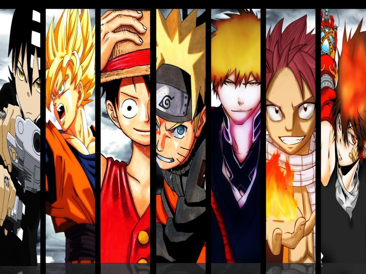 Personnages de mangas shônen (1)