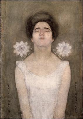 Qui a peint Fleurs de passion ?