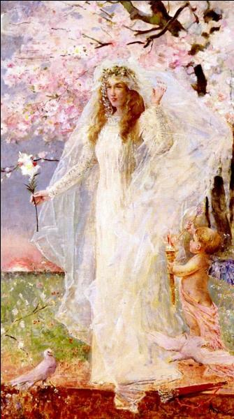 Qui a peint Cupidon et Hymen ?