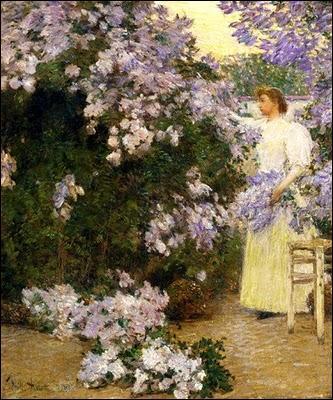 Qui a peint sa femme dans le jardin ?
