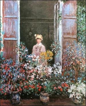 Qui a peint cette femme à la fenêtre ?