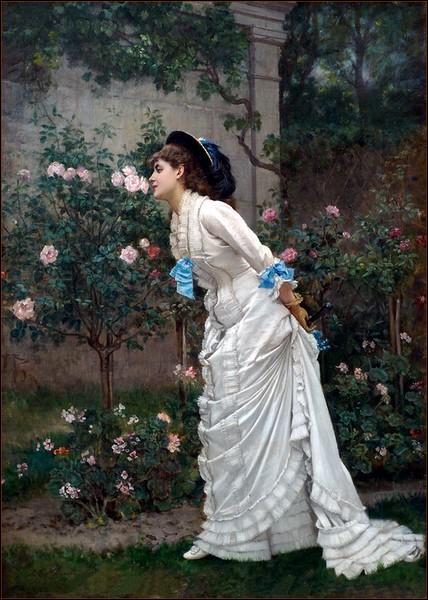 Qui a peint Le parfum des roses ?