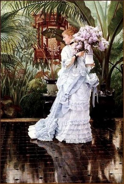 Qui a peint Le bouquet de lilas ?