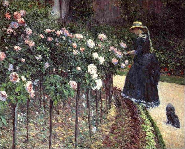 Qui a peint Les roses ?