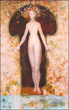 Qui a peint Femme fleur ?