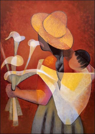 Qui a peint Mère et enfant ?