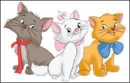 Dans quel film voit-on cet adorable trio de chatons : Toulouse, Marie et Berlioz ?