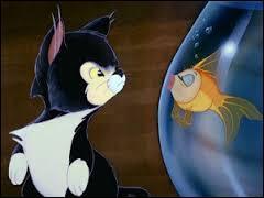 Dans quel film Disney ou Pixar, le chaton Figaro et le petit poisson Cléo sont-ils les animaux de compagnie d'un vieux sculpteur sur bois ?