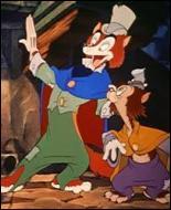 Dans quel film un chat simplet nommé Gédéon suit-il aveuglement le renard Grand-Coquin dans tous les mauvais coups à réaliser ?