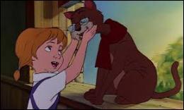 Dans quel film une petite fille séquestrée par une affreuse femme caresse-t-elle le vieux chat Rufus ?