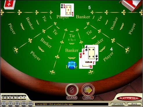 Quelle est la variante du baccara, fréquente dans les casinos, qui n'est pourtant pas sponsorisée par la S. N. C. F. ?