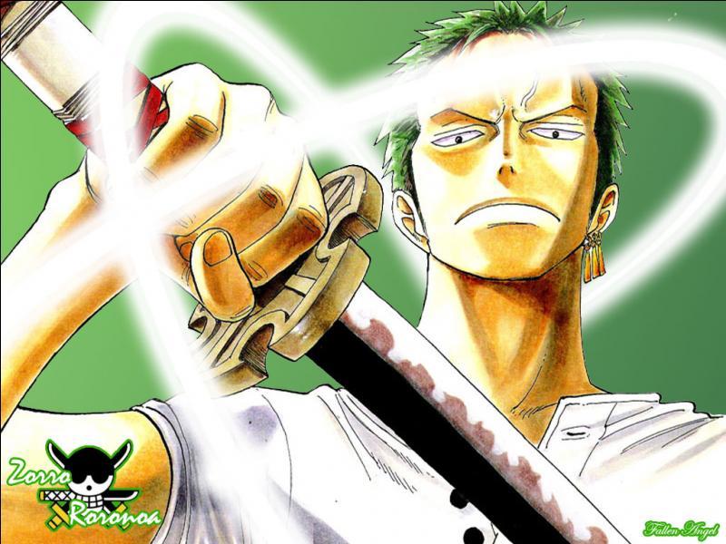 Cochez la/les bonne(s) information(s) sur ce personnage de  One Piece  !