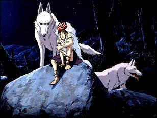 Avec qui les loups s'unissent-ils pour combattre Dame Eboshi ?