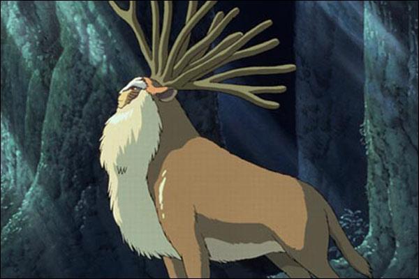 Qui aide Dame Eboshi à rechercher le Dieu-Cerf ?