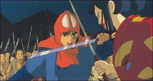 A la fin du dessin animé, quel personnage veut remercier Ashitaka ?