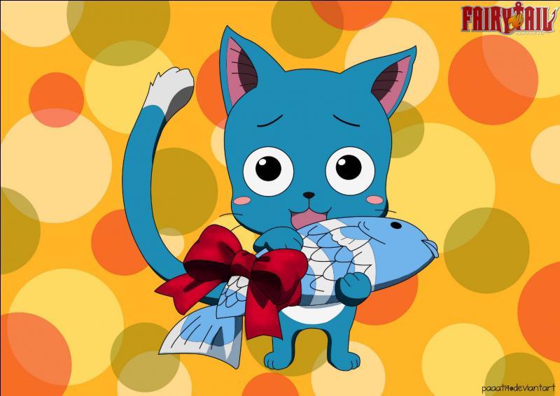 Quel est ce petit chat bleu ?