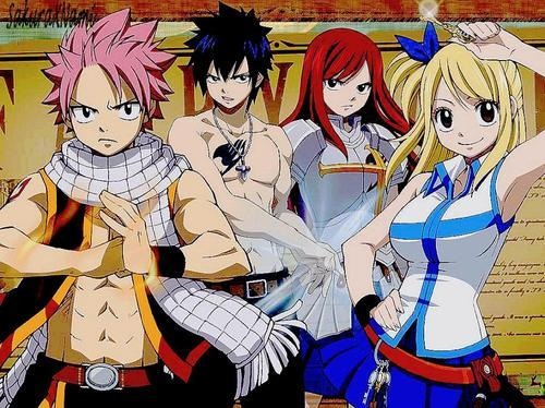 Fairy Tail - Les personnages