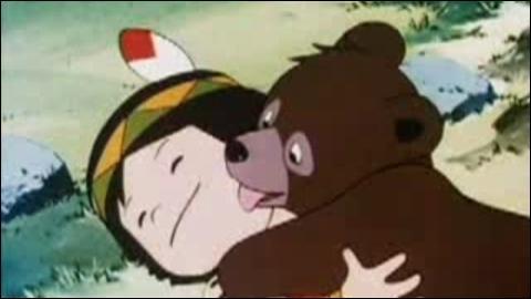 Bouba le petit ourson :  L'oncle Emile, forestier John et surtout ...