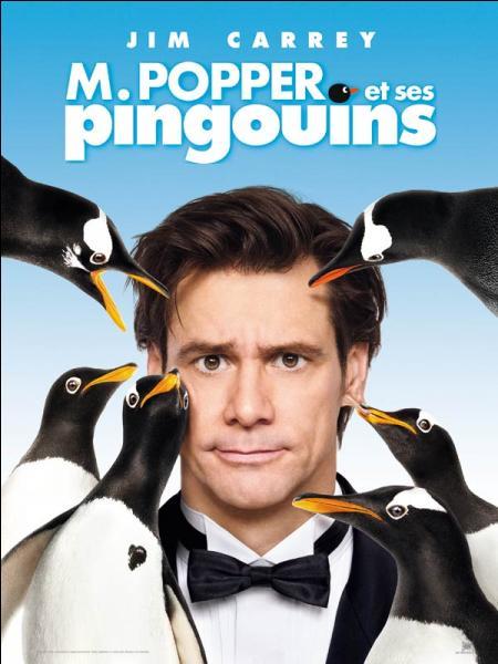 Certaines scènes du film «M. Popper et ses pingouins » ont été tournées avec de vrais oiseaux. Qu'a-t-il fallu faire pour que les manchots suivent Jim Carrey sans problème ?