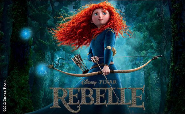 Le film d'animation «Rebelle», est le premier film de Pixar à avoir une fille pour personnage principal, mais aussi le premier à utiliser...