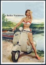 Ce scooter italien a connu un triomphe dans les années 50. Sous quel nom le connait-on mieux ?