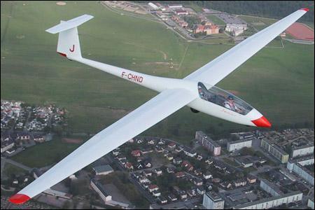 Comment se nomme ce modèle d'avion sans moteur ?