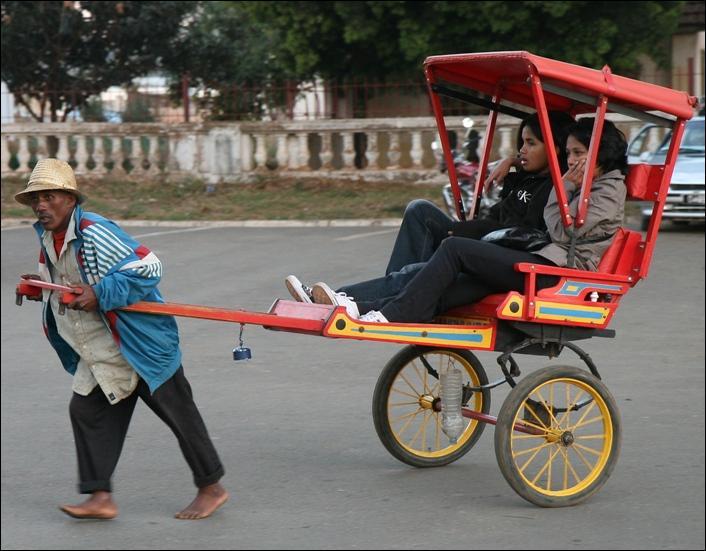 Quel est le nom de ce moyen de locomotion autrefois très fréquent en Chine ?