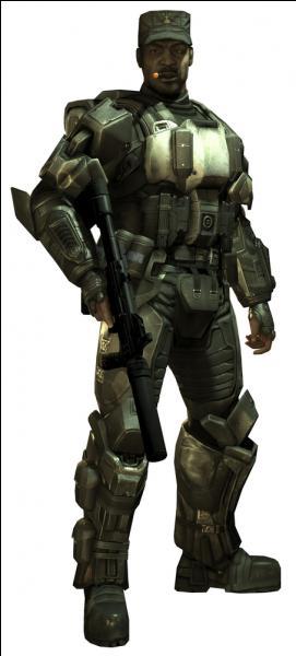 Quel est son vrai nom (Suite de la question précédente (si vous avez coché  Sergent Johnson ) ?